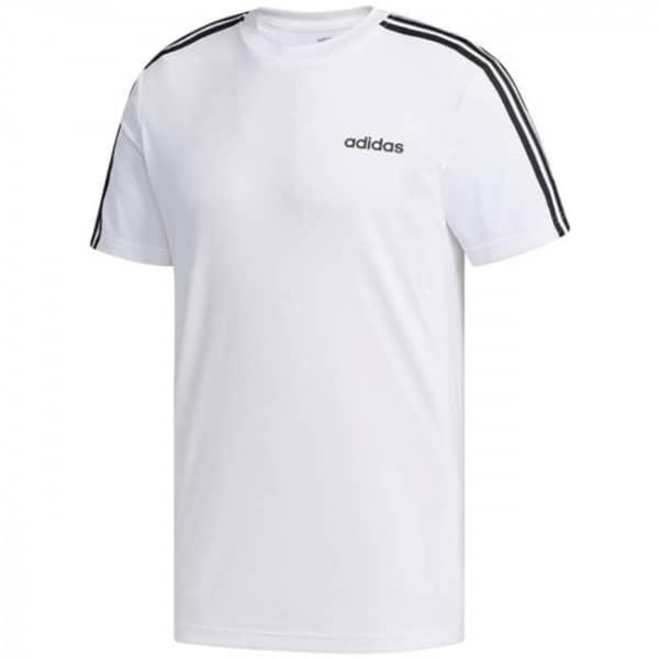Adidas Fitnessshirt m d2m 3s tee,white/black