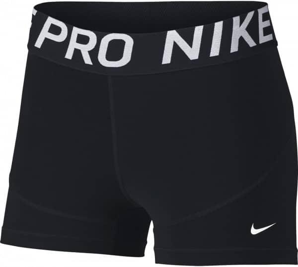 Nike Fitnesshose w np short 3in new,black/white