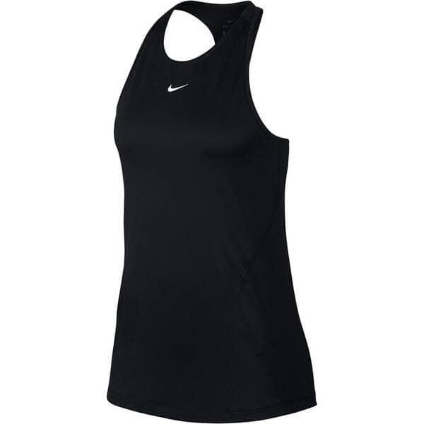 Nike Fitnessshirt w np tank all over mesh,black/white