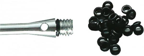 Bull's O-Ringe 6 mm schwarz 6 Stück