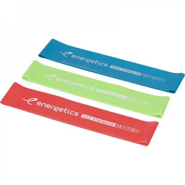 Energetics Resistance Band Miniband Set X-Lite