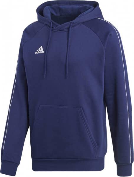 Adidas Hoodie core18 blau