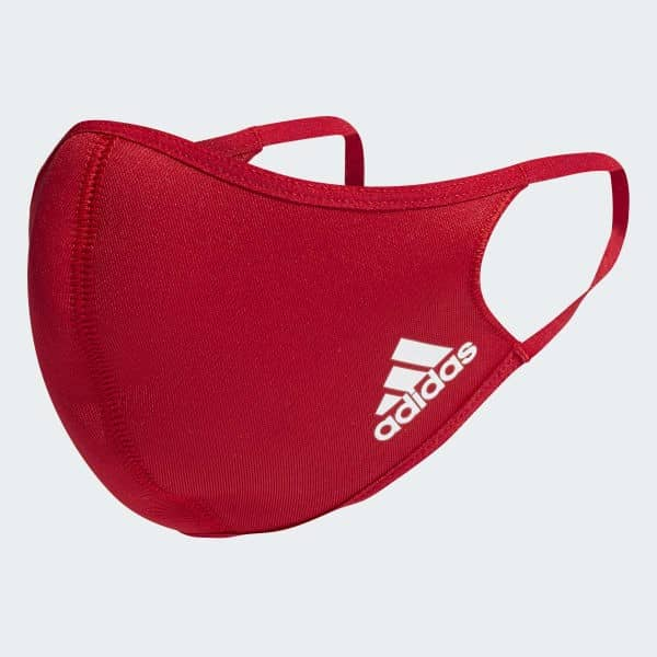 adidas Face Cover Maske Gr. XS/ S rot