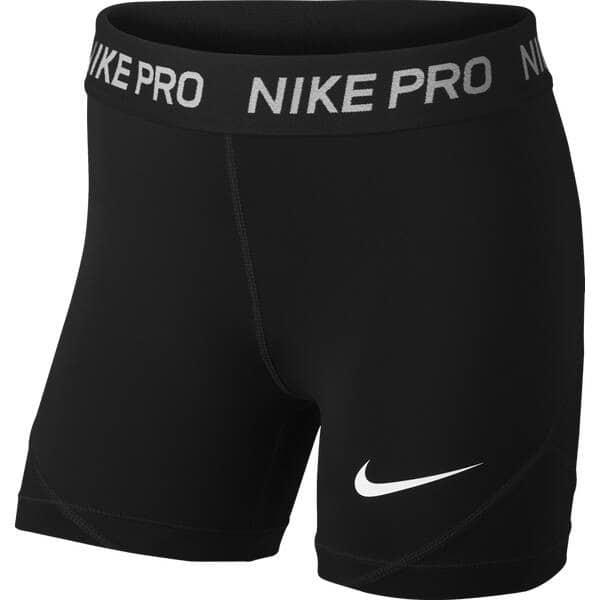 Nike Fitnesshose g np short Kids black/white